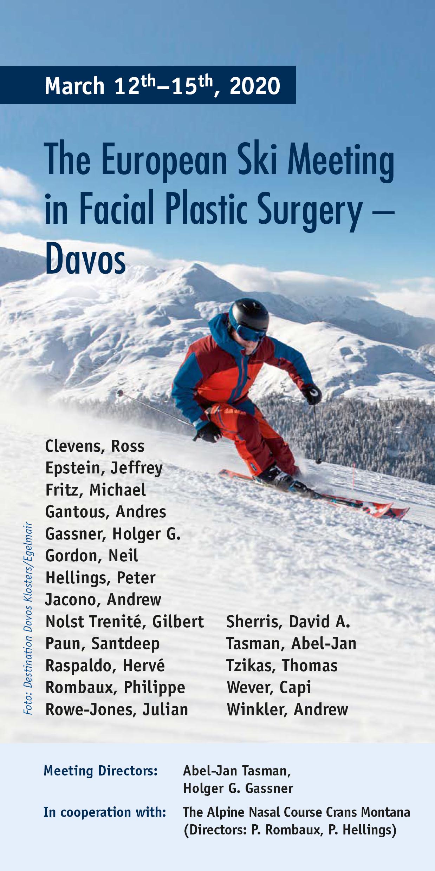 The European Ski Meeting in Facial Plastic Surgery - European